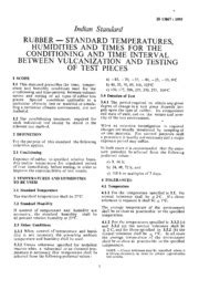 IS 13805: General Standard for Qualification and