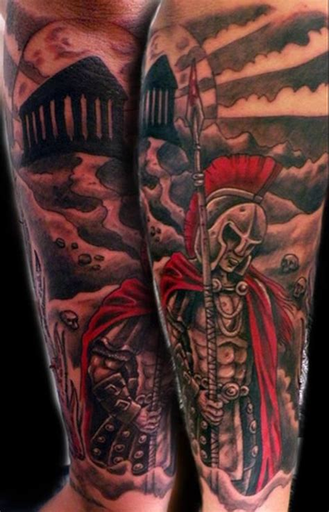 spartan quarter sleeve tattoo 34 best images about tattoo ideas on pinterest wing