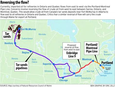 tar sands canada map divided portland council angers mayor by expressing