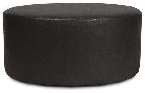 Black Circle Ottoman Avanti Black Universal 36 Ottoman Contemporary