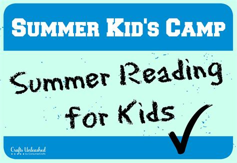 a summer s reading themes summer reading for kids kids c at crafts unleashed