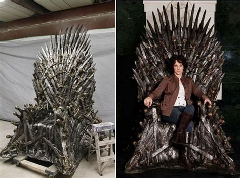 size of thrones iron throne replica