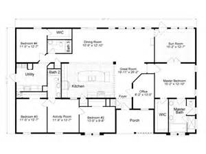 2500 sq ft house plans single story 2500 sq ft modular house plans single story