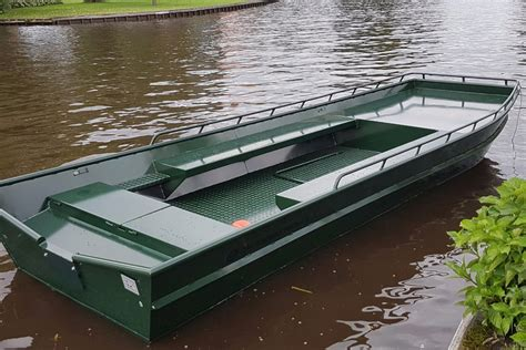 gewicht platbodem aluminium platbodems de wetering botenbouw
