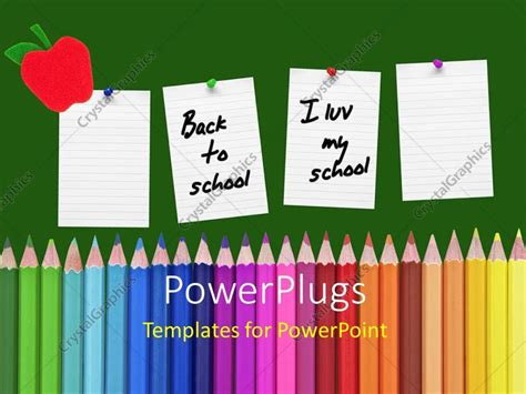 theme in literature powerpoint high school powerpoint template a umber pages with a lot of color