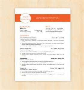 resume template cv template the walker resume by