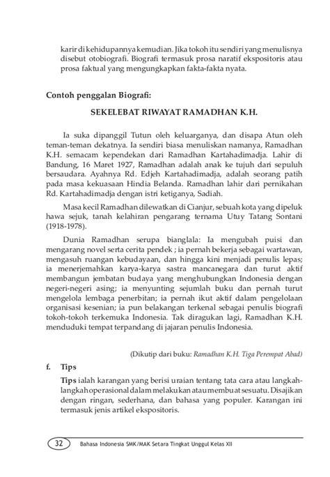 biografi kapitan pattimura menggunakan bahasa sunda bahasa indonesia smk kelas xii