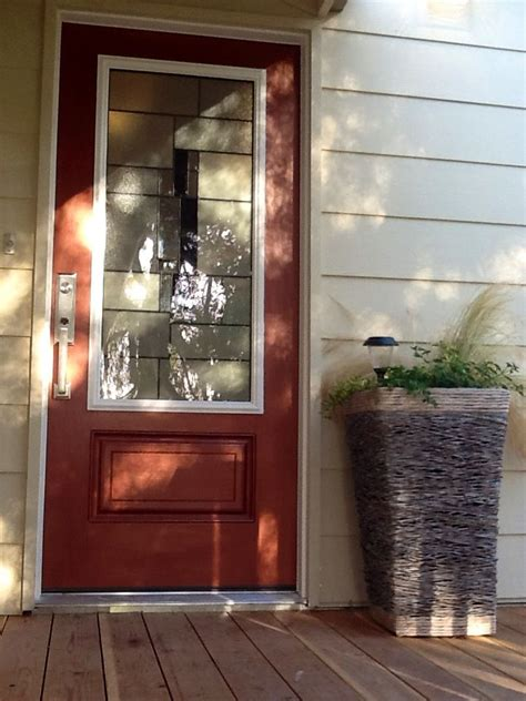 hand painted metallic copper door finish house painting