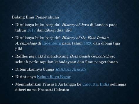 Buku Inggris Di Jawa 1811 1816 Carey masa pemerintahan stamfort raffles di indonesia