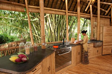 bamboo kitchen design green bamboo houses