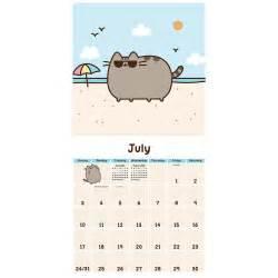 Cat Calendars Pusheen The Cat 2016 Wall Calendar 9781449470586