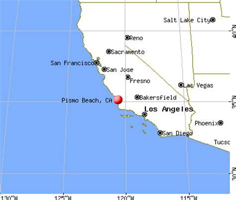 pismo california map pismo california ca 93449 profile population
