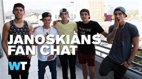 whats trending in 2015 janoskians fan chat uncensored what s trending live
