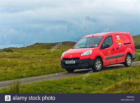 mail motorcar gr loc us royal mail service car on duty sutherland scotland