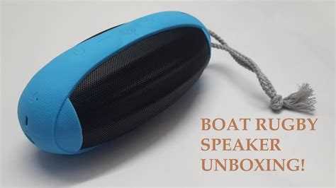 boat rugby speakers india boat rugby bluetooth speaker unboxing with sound test