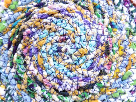 zig zag braid pattern for sew in fabric twine spiral mat my poppet makes
