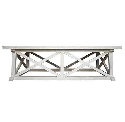 coastal living coffee table luc coastal white wash coffee table kathy kuo home