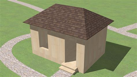 How To Build A Simple Cupola How To Build A Hip Roof 15 Steps With Pictures Wikihow