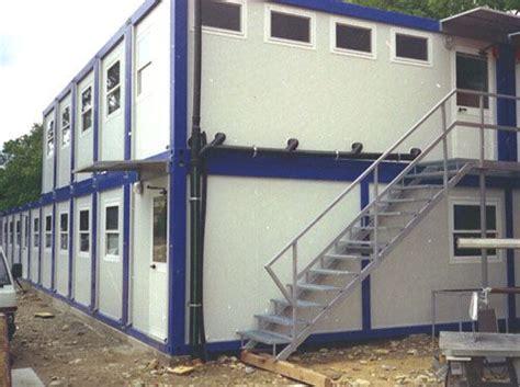 uffici da cantiere uffici e dormitori con servizi da cantiere