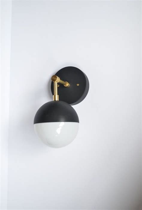 Black Bathroom Sconce Best 25 Sconce Lighting Ideas On Scandinavian