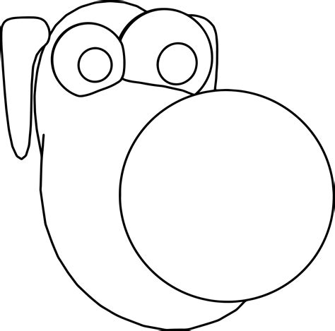 dog face coloring pages wecoloringpage