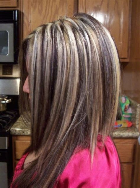 blonde hairstyles black underneath blonde highlights with brown lowlights underneath misc