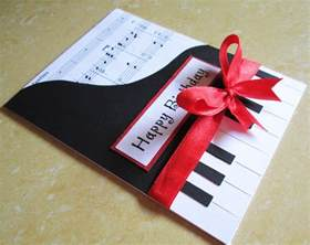 piano inspired card for him tarjetas cards birthdays and cardmaking