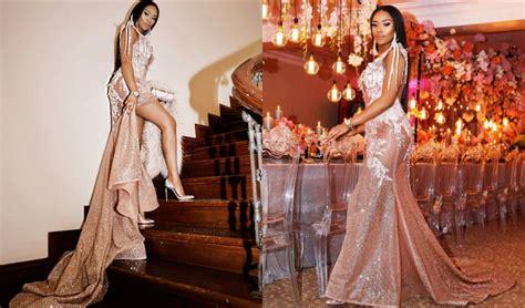 Liv Stylish 31st Birthday by Bonang Matheba In Elegance To Celebrate 31st