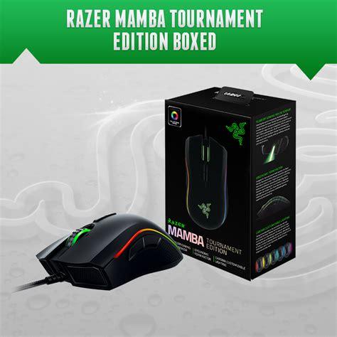 Razer Mouse Mamba 16000 New razer mamba tournament edition gaming mouse 16000 dpi