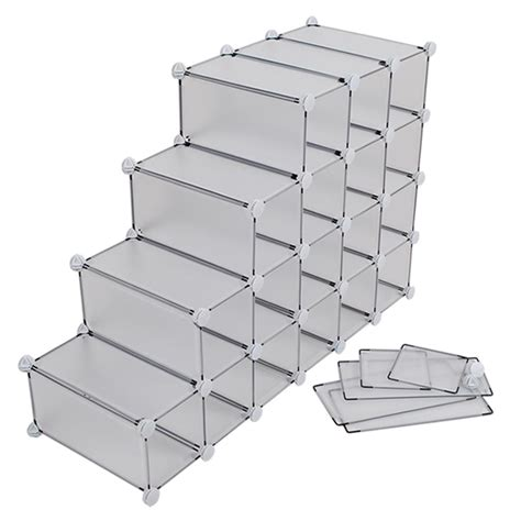 mens shoe storage boxes interlocking sboe storage