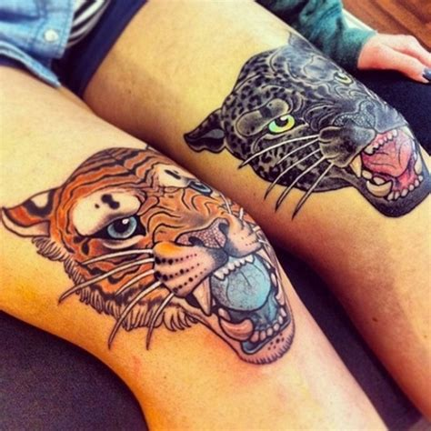 knee tattoos cool knee tattoos ideas central