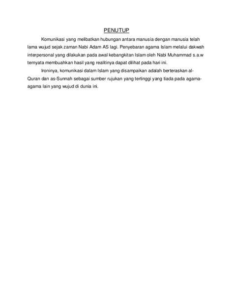 Komunikasi Interpersonal Suranto Aw Diskon 3 pendekatan islam dalam komunikasi interpersonal