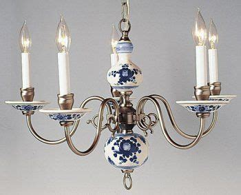 Blue And White Chandelier Delft Chandelier Blue And White