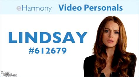 And Now A Word From Popbytes by Lindsay Lohan Now On Eharmony Popbytes
