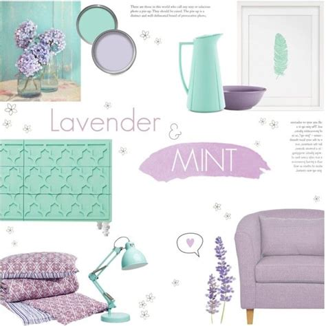 mint green home decor lavender mint green by c silla on polyvore featuring
