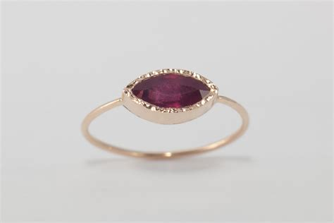 Ruby Ring by Ruby Ring Ruby Engagement Ring Simple Engagement