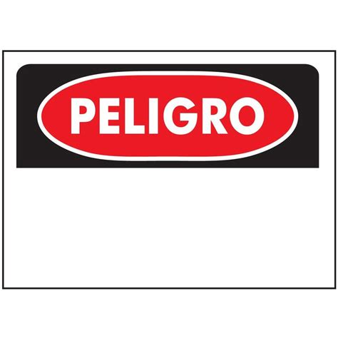 Great Room Ceiling Ideas - hy ko 10 in x 14 in plastic peligro sign 21201 the home depot