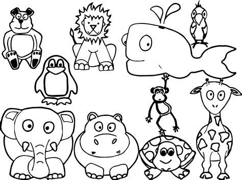 coloring pages animals all baby farm animal coloring page wecoloringpage