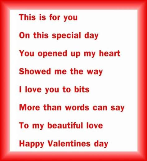 valentines day verses happy s day 2015 valentines day poems 2015