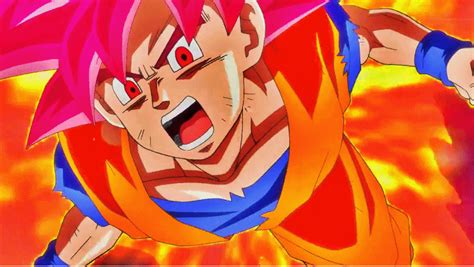 imagenes de goku rojo bills vs goku god goku fase dios rojo pinterest goku