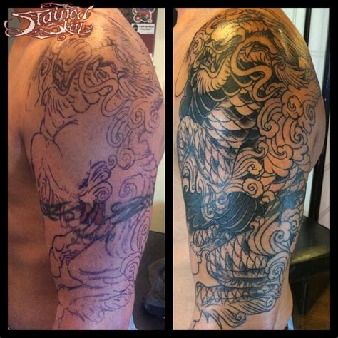 tattoo cover up sleeve target anthonydubois kirin tattoo cover up kirin kirin tattoo