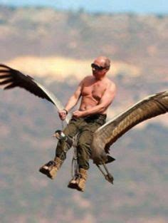 topless vladimir putin  donald trump riding  horse