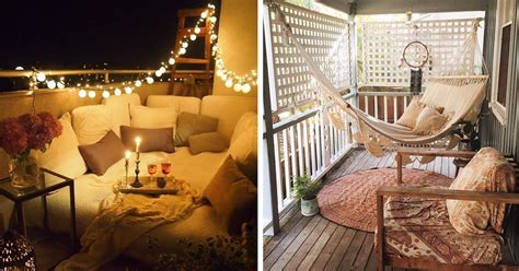 Decoration Ideas 20 Cozy Balcony Decorating Ideas Bored Panda