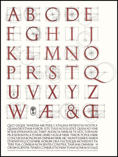 lettere romane poster 85