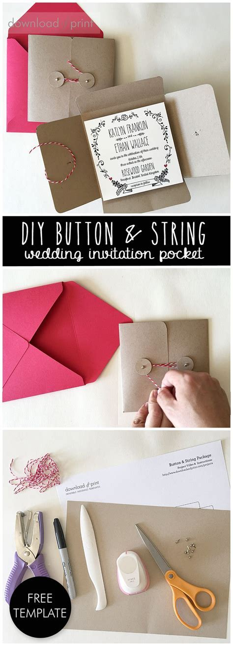 52 best images about DIY Invitation Tutorials on Pinterest