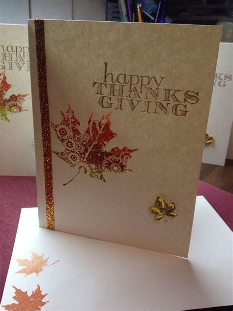 Handmade Thanksgiving Card Ideas - 17 best ideas about thanksgiving greeting cards 2017 on