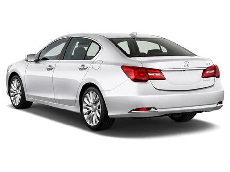 image 2014 acura rlx 4 door sedan angular rear exterior