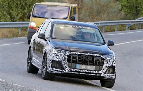 When Does 2020 Audi Q7 Come Out by Brawny 2020 Audi Sq7 Comes Out Of Hiding As Well Carscoops