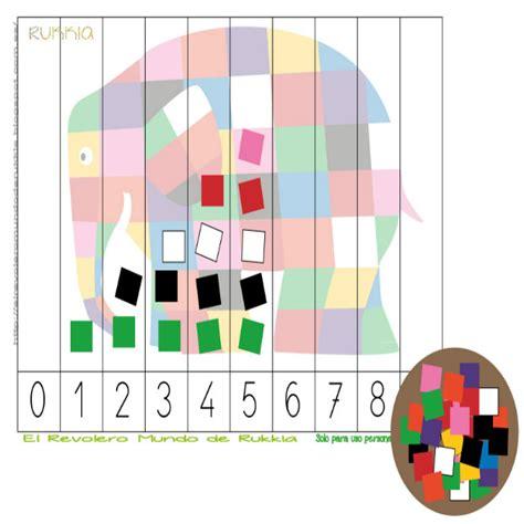 libro elmer elephant colours buggy aprender colores elmer jardin aprendiendo colores actividades de conteo y