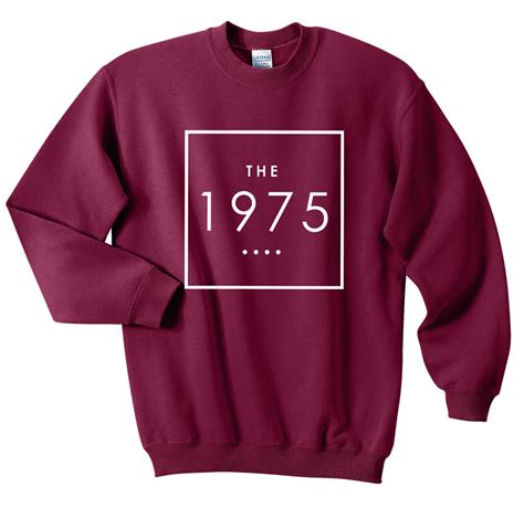 Sweater The 1975 Hoodie the 1975 sweatshirts sweater fansshirt